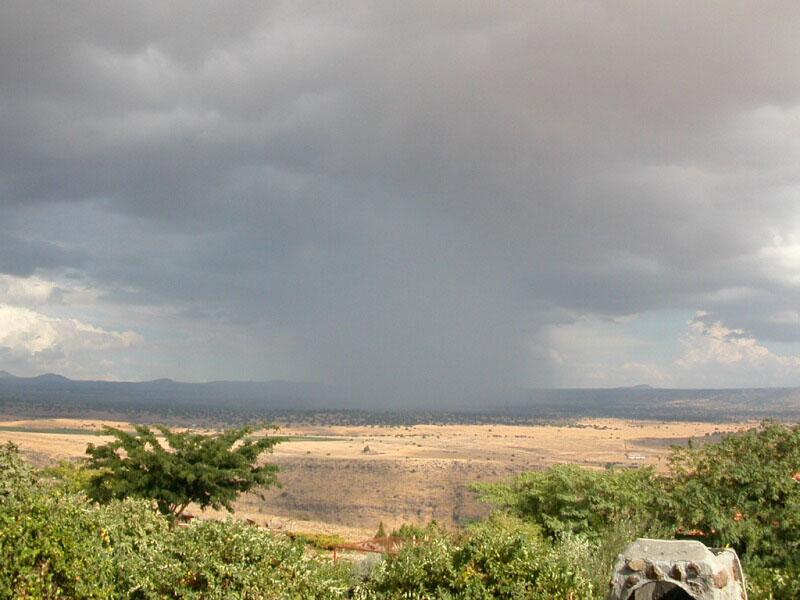 Rain Near Sea of Galilee